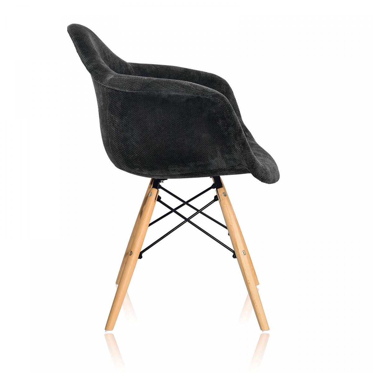 Стул-кресло Eames Style DAW Fabric (Эймс Стайл ДАВ Фабрик)