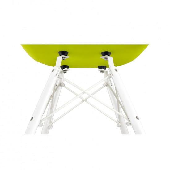 Стул-кресло Eames Style DAW White (Эймс Стайл ДАВ Вайт)