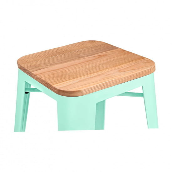 Барный стул Tolix Wood 75 (Толикс Вуд 75)